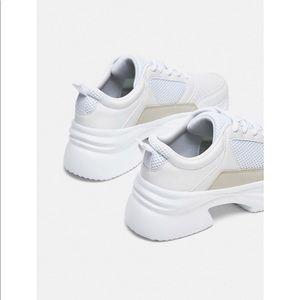 Zara Shoes Chunky Sole Sneakers Poshmark